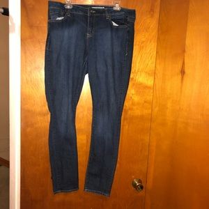 torrid curvy skinny jeans size 16 Tall